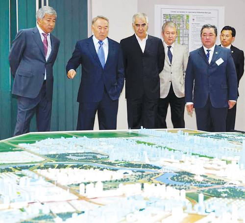 Главе государства был представлен отчет о выполнении поручений, данных на совещании по развитию города астаны в